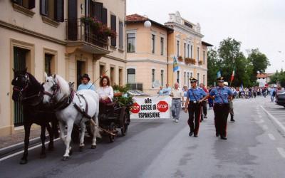 Manifestazione nei pressi di Udine