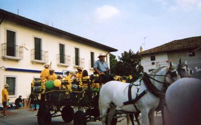 Ricorrenza paesana nei pressi di Udine